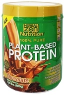 Herbal Zen - Plant-Based Protein 100% Pure Chocolate - 1.5 lbs.