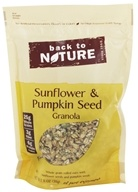 Back To Nature - Sunflower & Pumpkin Seed Granola - 11 oz.