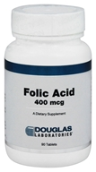Douglas Laboratories - Folic Acid 400 mcg. - 90 Tablets