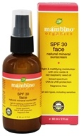 Mambino Organics - Organic SPF 30 Face Natural Mineral Sunscreen - 2 oz.