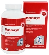 Mucos - Wobenzym Plus - 480 Enteric-Coated Tablets