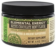 Solis Nutritional Blends - Elemental Energy Native Chocolate Mint Flavor - 4.4 oz.