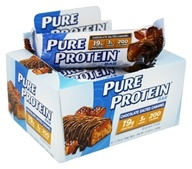 Pure Protein -  Protein Bar Chocolate Salted Caramel - 6 Pack