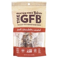 The GFB - The Gluten Free Bites Dark Chocolate Coconut - 4 oz.