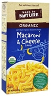 Back To Nature - Organic Macaroni & Cheese Dinner Cheddar - 6 oz.