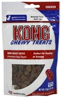 Kong - Chewy Mini Dog Treats Chicken - 4.5 oz.