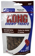 Kong - Chewy Mini Dog Treats Beef - 4.5 oz.