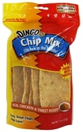 Dingo - Chicken In The Middle Rawhide Chew Chip Mix Chicken & Sweet Potato - 7.5 oz.