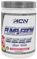 Athlete Certified Nutrition - Pump & Grow Strawberry Lemonade - 9.8 oz.
