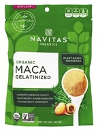 Navitas Naturals - Gelatinized Maca Powder - 8 oz.