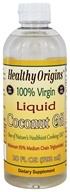 Healthy Origins - 100% Virgin Liquid Coconut Oil - 20 oz.