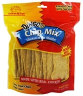 Dingo - Chicken In The Middle Rawhide Chew Chip Mix - 16 oz.