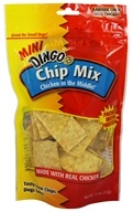 Dingo - Chicken In The Middle Rawhide Chew Chip Mix - 7.5 oz.