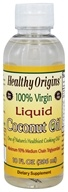 Healthy Origins - 100% Virgin Liquid Coconut Oil - 10 oz.