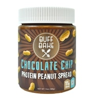 Buff Bake - Buff Butter Gluten Free Peanut Butter Chocolate Chip Peanut Butter - 12 oz.