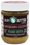 Buff Bake - Buff Butter Gluten Free Peanut Butter Cranberry Coconut - 12 oz.