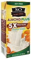 So Delicious - Dairy Free Almond Milk Plus Unsweetened - 32 oz.