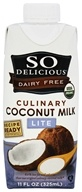 So Delicious - Dairy Free Culinary Coconut Milk Lite - 11 oz.