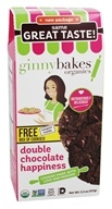 ginnybakes - Organic Gluten Free Fresh Baked Cookies Double Chocolate Happiness - 5.5 oz.