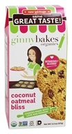 ginnybakes - Organic Gluten Free Fresh Baked Cookies Coconut Oatmeal Bliss - 5.5 oz.