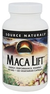 Source Naturals - Maca Lift 600 mg. - 120 Vegetarian Capsules