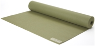 Jade Yoga - Harmony Professional Yoga Mat Olive Green - 68 in.