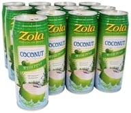 Zola - 100% Natural Coconut Water Original - 17.5 oz.