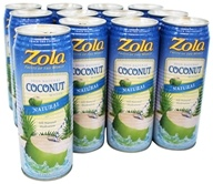 Zola - 100% Natural Coconut Water With Pulp - 17.5 oz.
