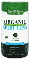 Green Foods - Organic Spirulina - 300 Tablet(s)