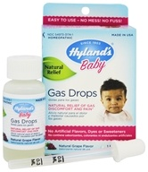Hylands - Baby Gas Drops Natural Grape Flavor - 1 oz.