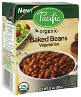 Pacific Natural Foods - Organic Vegetarian Baked Beans - 13.6 oz.