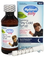 Hylands - Baby Nighttime Tiny Cold Syrup - 4 oz.