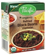 Pacific Natural Foods - Organic Vegetarian Refried Black Beans - 13.6 oz.