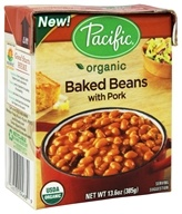 Pacific Natural Foods - Organic Baked Beans with Pork - 13.6 oz.