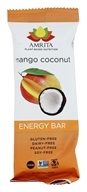 Amrita - Plant-Based Nutrition Energy Bar Mango Coconut - 1.8 oz.