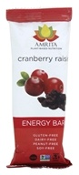 Amrita - Plant-Based Nutrition Energy Bar Cranberry Raisin - 1.8 oz.