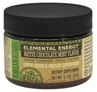 Solis Nutritional Blends - Elemental Energy Native Chocolate Mint Flavor - 0.7 oz.