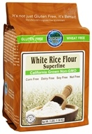 Authentic Foods - Gluten Free Superfine White Rice Flour - 3 lbs.