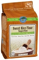 Authentic Foods - Gluten-Free Superfine Sweet Rice Flour - 3 lbs.