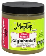 MopTop - Curly Hair Custard Citrus Kumquat - 8 oz.