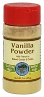 Authentic Foods - Gluten-Free Vanilla Powder - 3 oz.