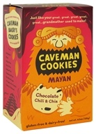 Caveman Bakery - Caveman Cookies Mayan Chocolate Chili & Chia - 4.5 oz.