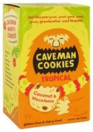 Caveman Bakery - Caveman Cookies Tropical Coconut & Macadamia - 4.5 oz.