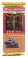 Coco Polo - 70% Dark Chocolate Bar Cocoa - 3 oz.
