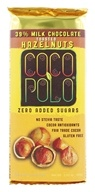 Coco Polo - 39% Milk Chocolate Bar Toasted Hazelnuts - 2.82 oz.