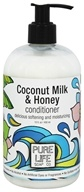 Pure Life Soap Co. - Conditioner Coconut Milk & Honey - 15 oz.