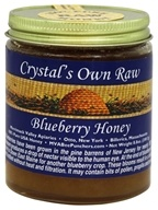 Crystal's All Natural - 100% Pure Raw Honey Blueberry - 8.8 oz.