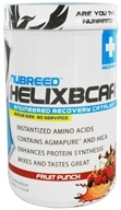 Nubreed Nutrition - Helix BCAA Powder Engineered Recovery Catalyst Fruit Punch - 2.22 lbs.