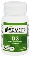 EZ Melts - Vitamin D3 Natural Apple Flavor 5000 IU - 90 Tablets