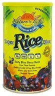 Nature's Life - Super Rice Blue Tasty Blue Berry Burst - 488 Grams